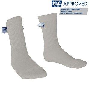 Чорапи RRS в бяло FIA